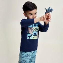 Комплект Charlie Choe за момче в цвят индиго