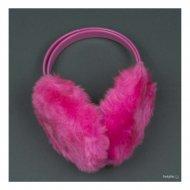 Розови ушанки с пух