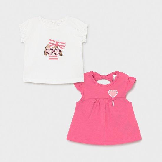 Комплект от тениска и потник за момиче Mayoral