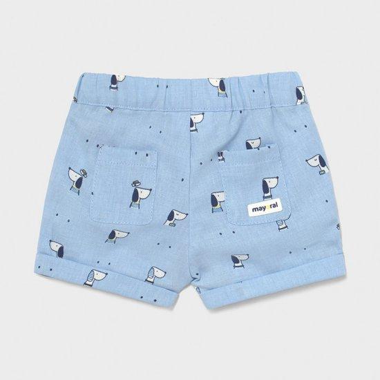 Детски шорти в светло синьо