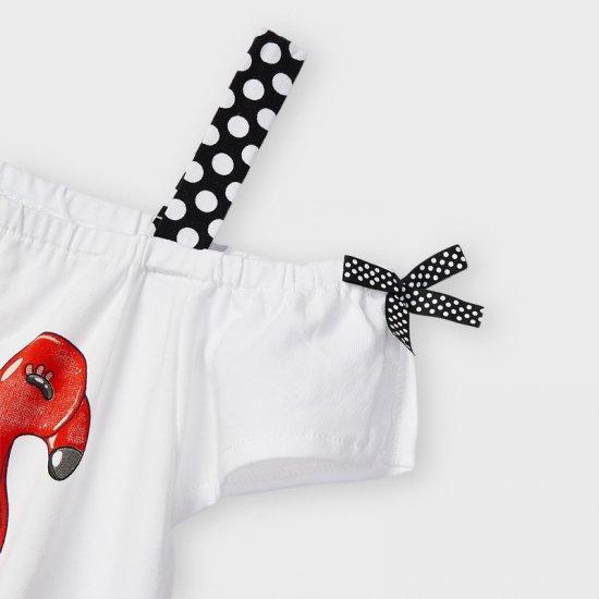 Комплект от тениска и шорти за момиче Mayoral
