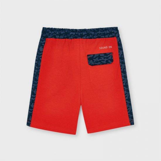 Детски три четвърти червени панталони Mayoral