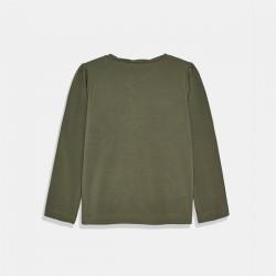 Тениска Mayoral в тъмнозелено