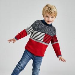 Пуловер Mayoral в червено