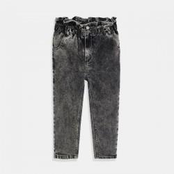 Дънков панталон Mayoral в тъмно сиво