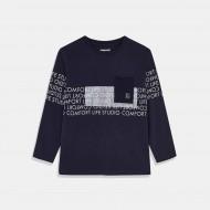 Тениска Mayoral в цвят тъмно синьо