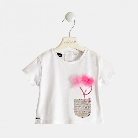 """Бяла тениска """"Sarabanda"""""""