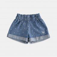 Деним - къси панталони на звездички