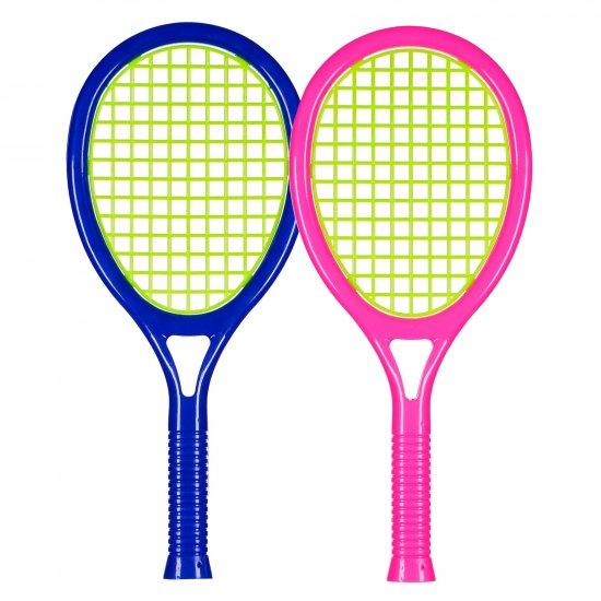Комплект от 2 ракети за тенис с топче и перце