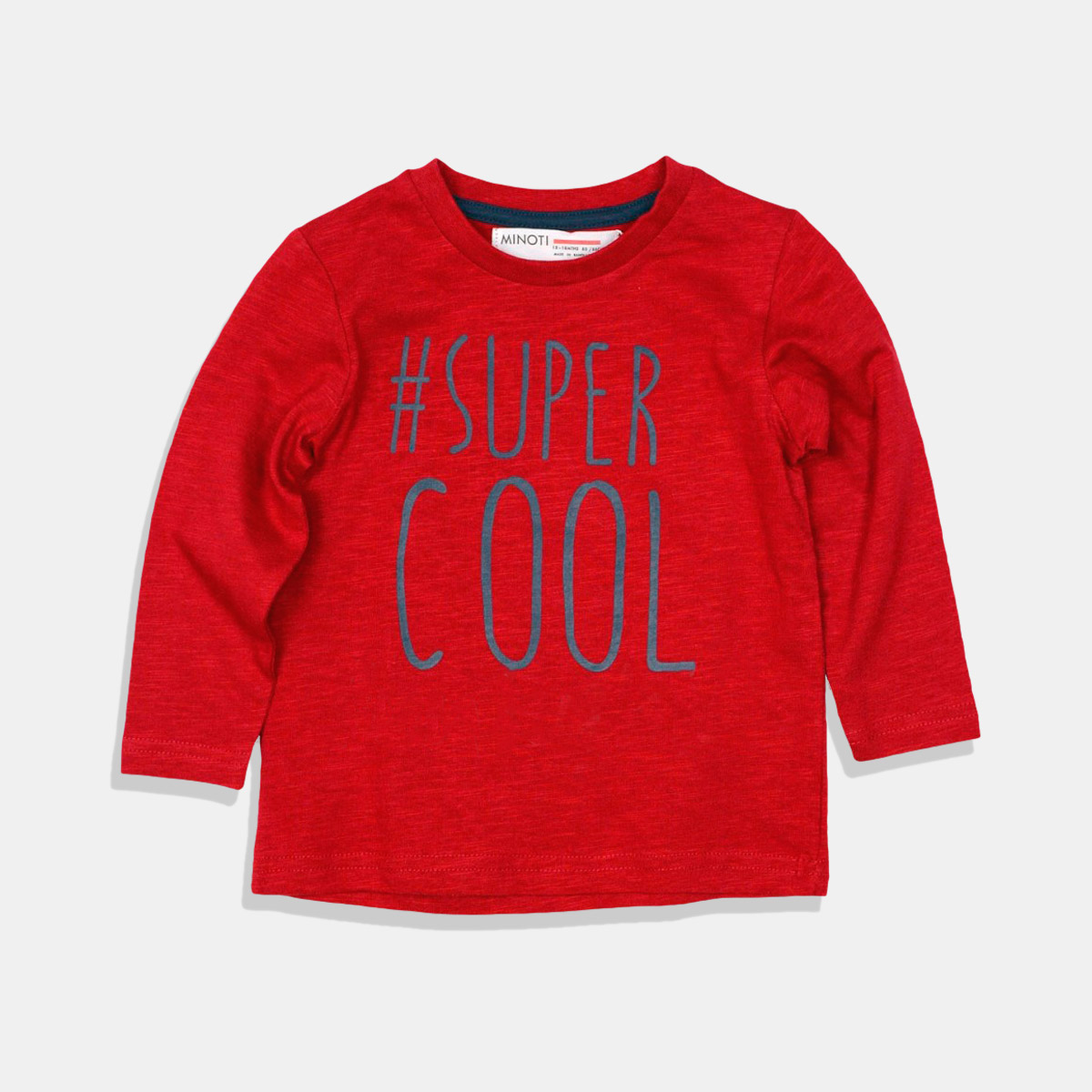 Блузка Super Cool тъмно червена