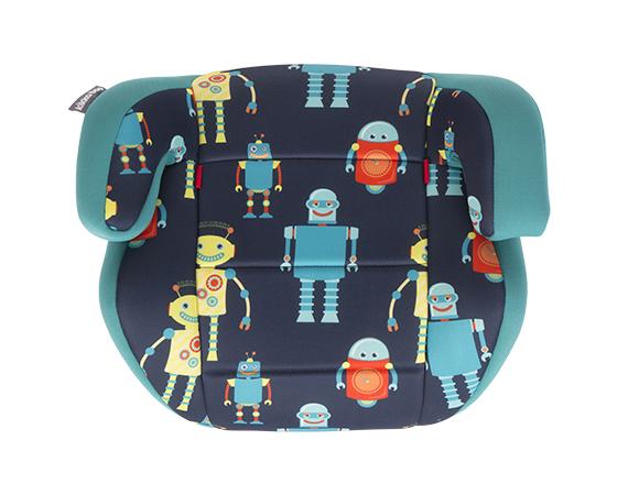 Стол за кола 2-3 (15-36 кг) Jazzy Blue Robots