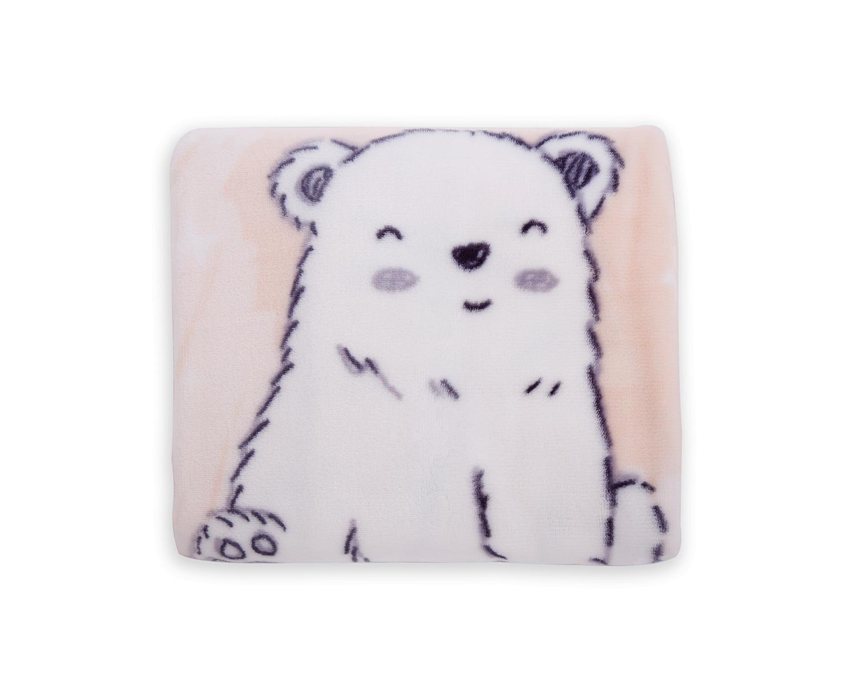 Порт бебе Pink Polar Bear