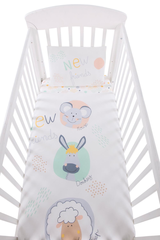 Бебешки спален комплект 5 части New Friends