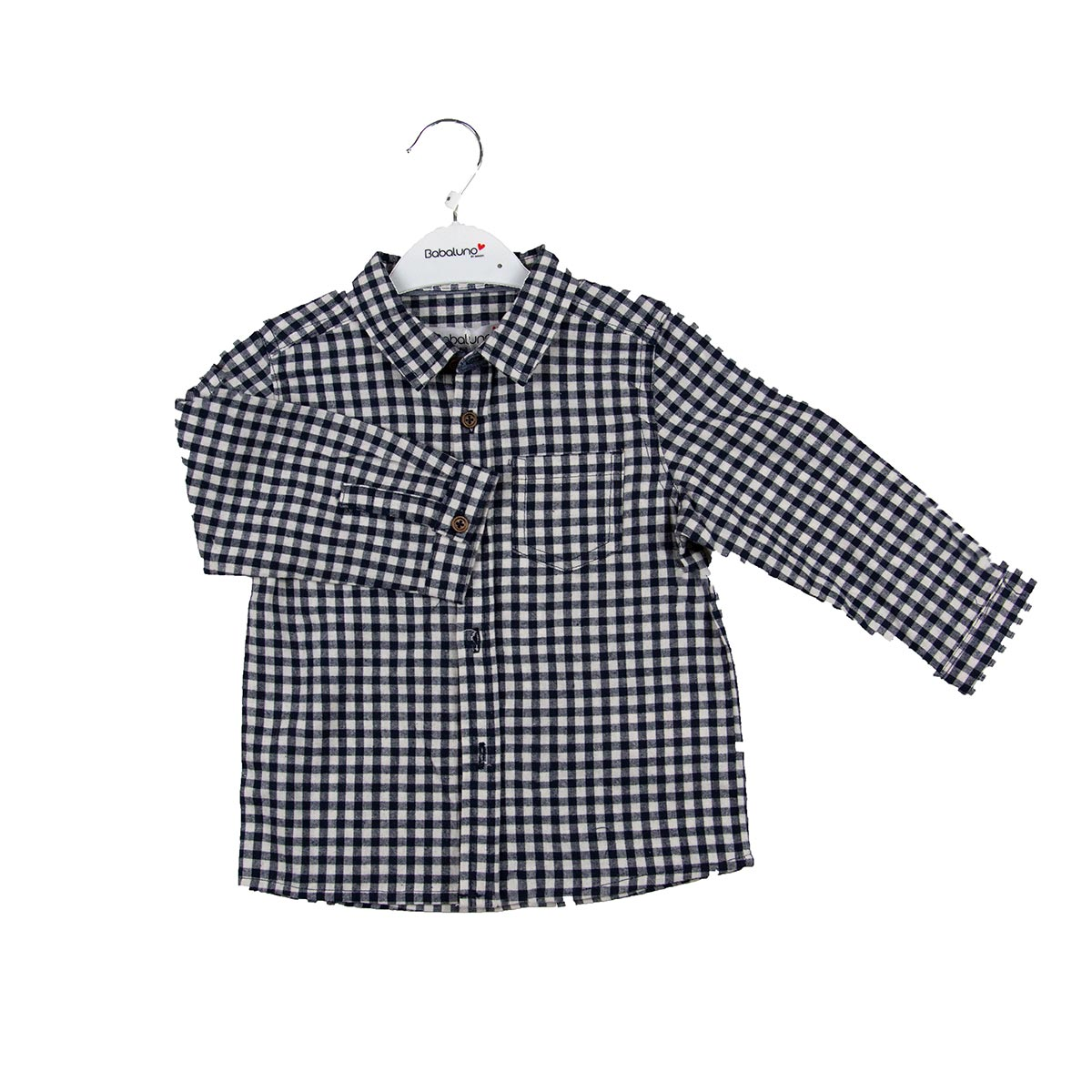 Карирана риза Babulino