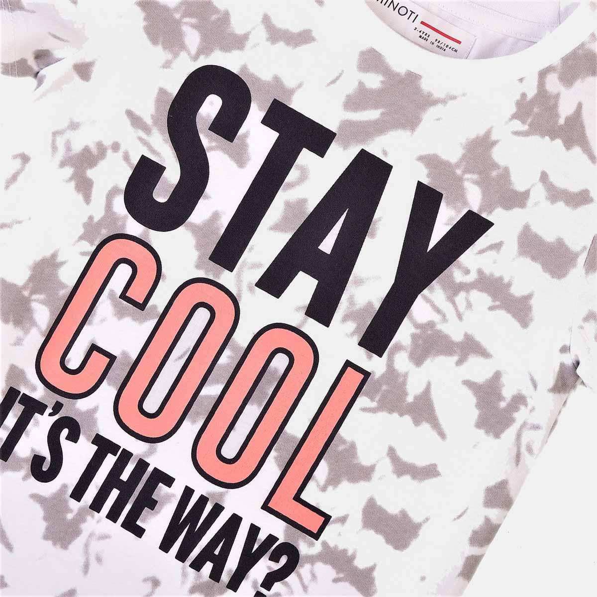 Детска тениска за момче Stay Cool