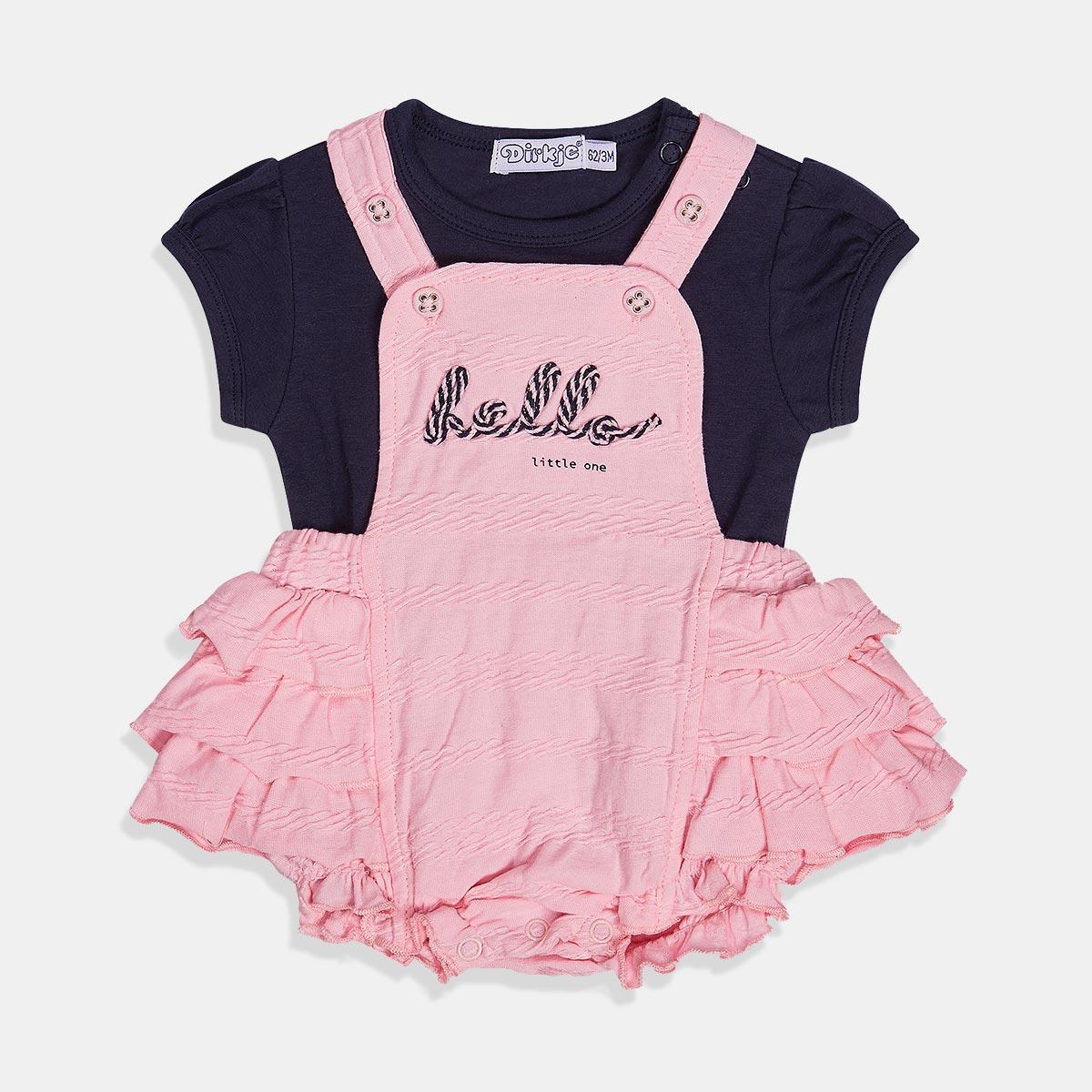 Комплект сукман и блуза за бебе момиче Dirkje
