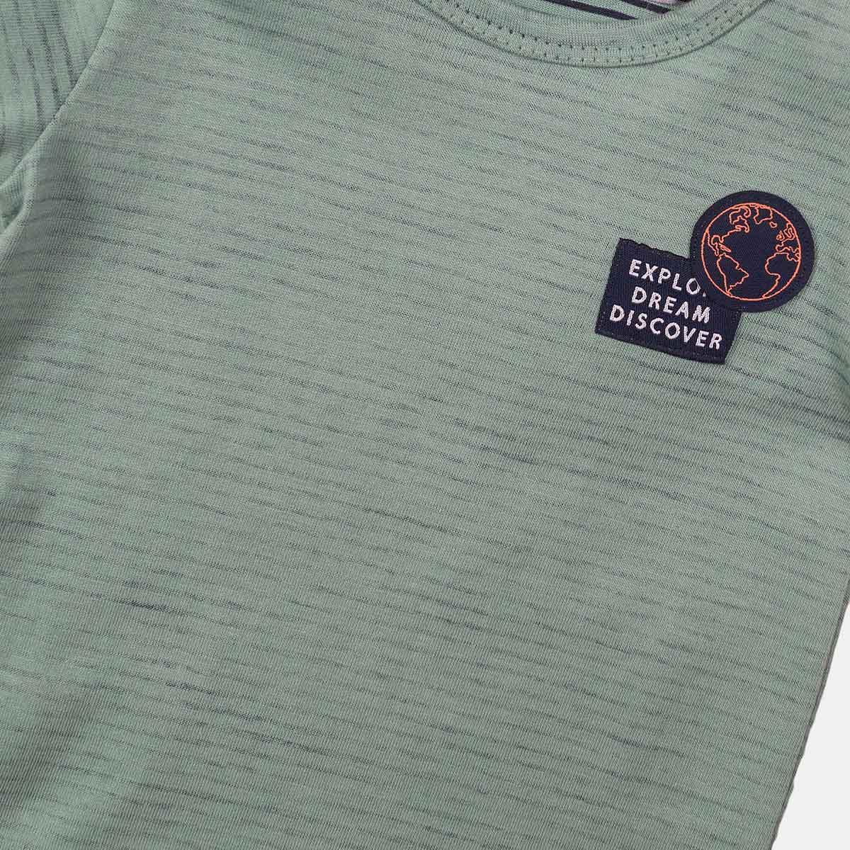 Тениска Dirkje зелени ивици