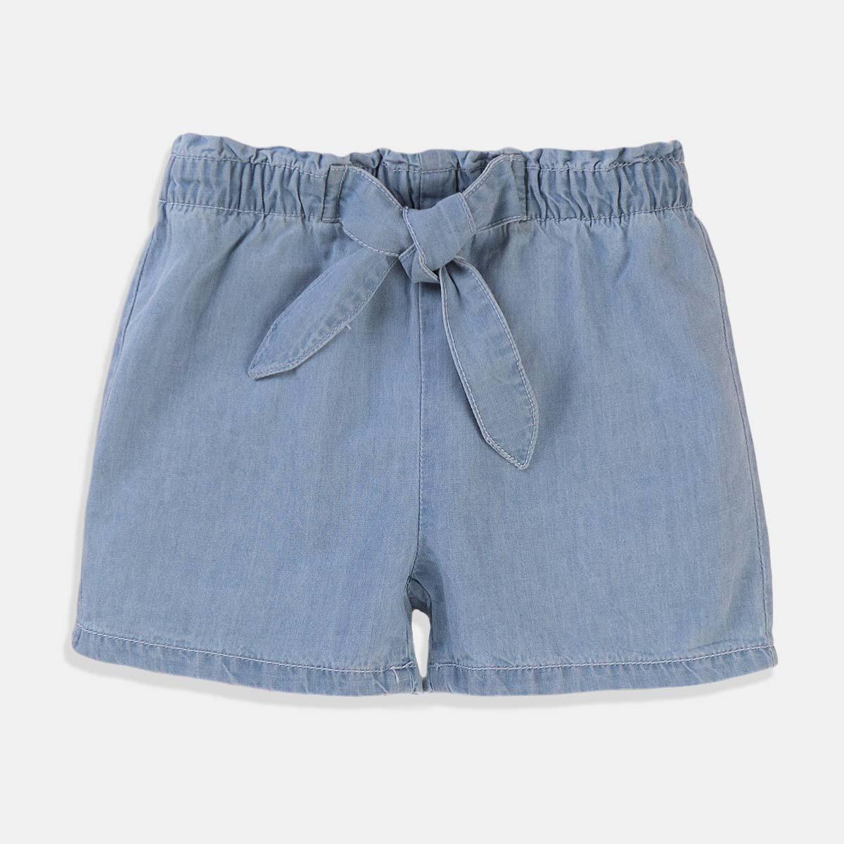 Дънкови къси панталони Minoti за момиче