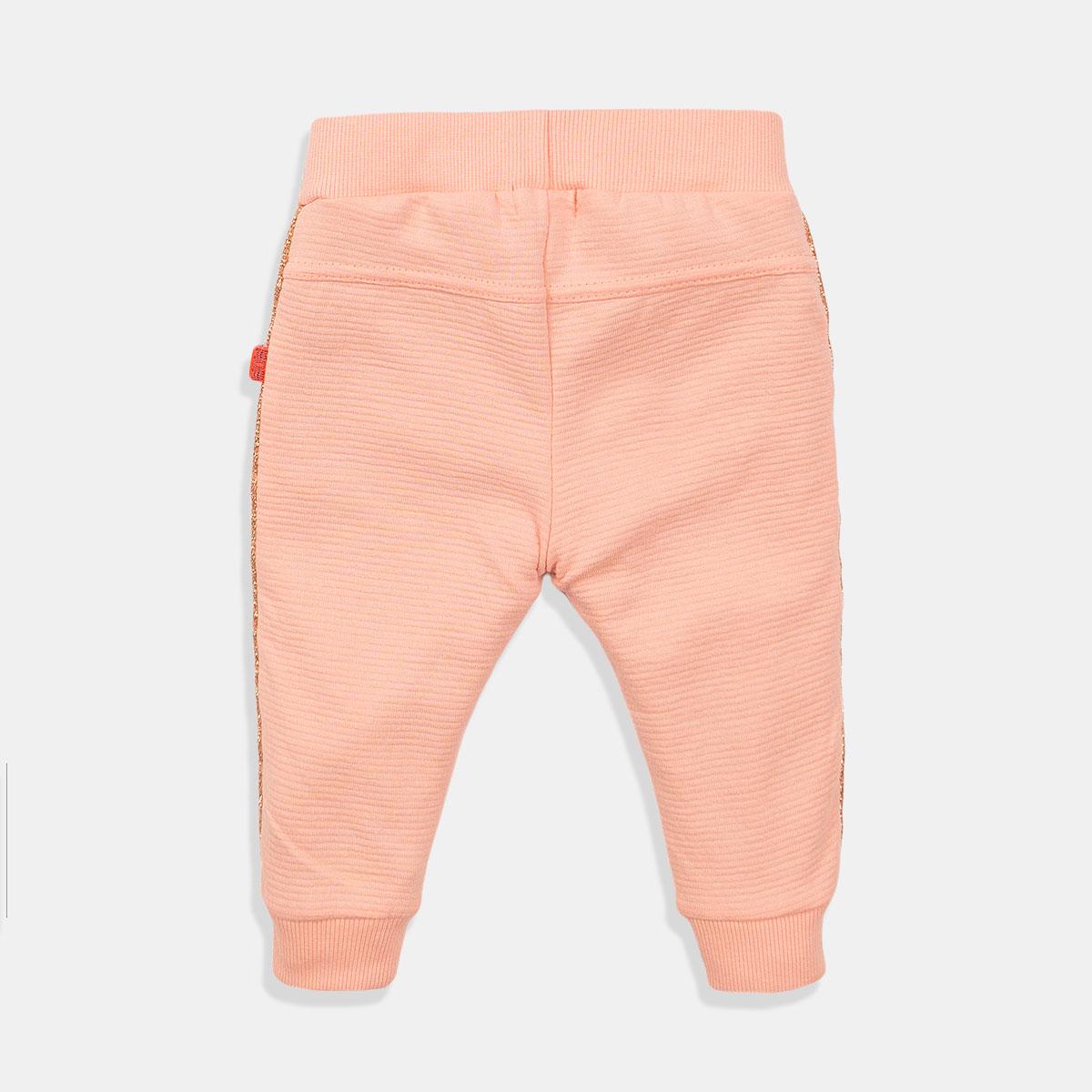 Прасковен панталон за момиче