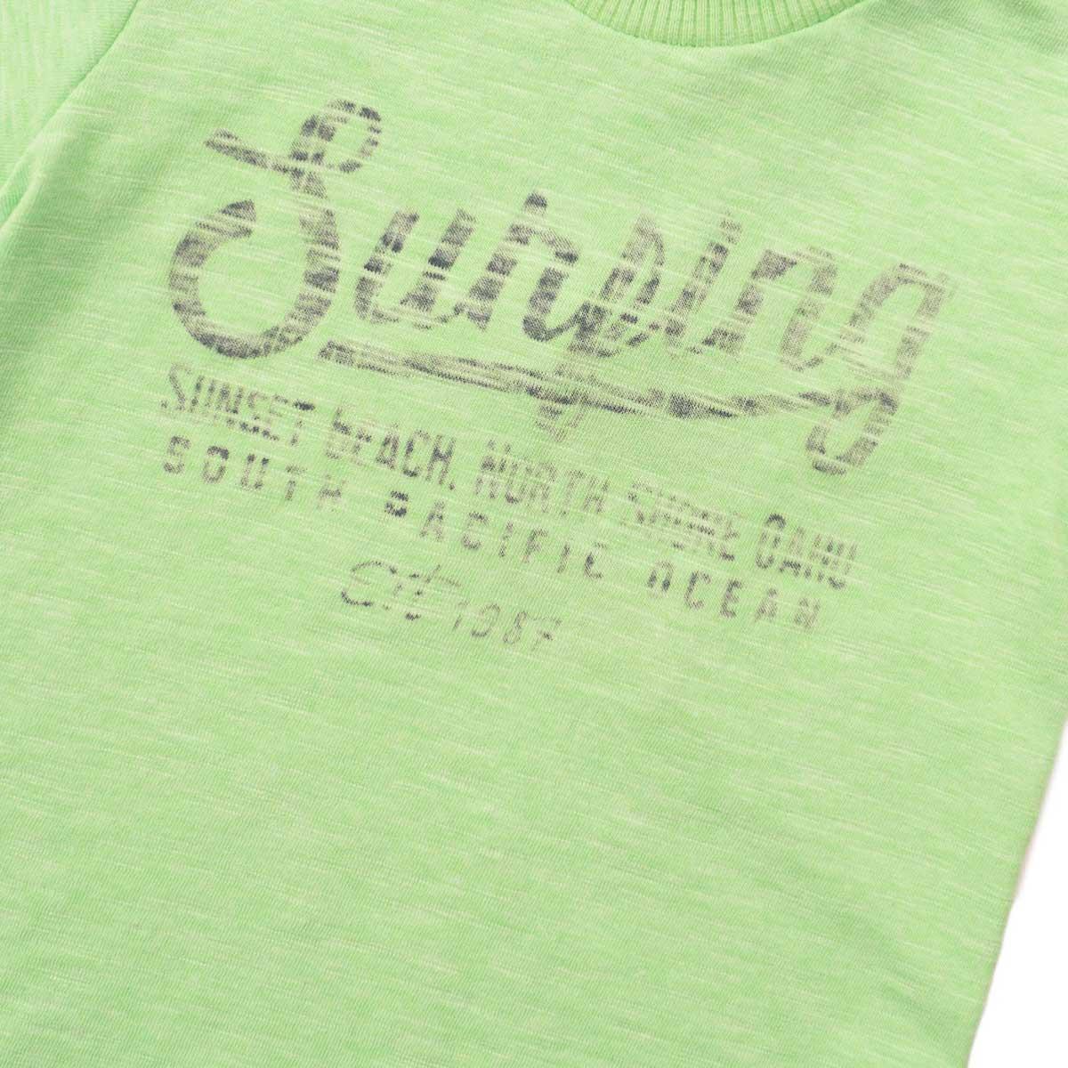 Тениска Surfing  в ярко зелено