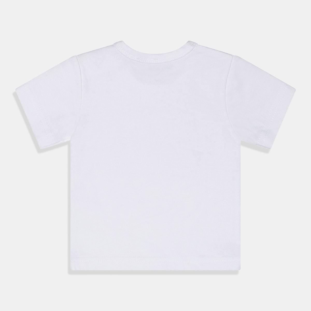 Бяла едноцветна тениска Dirkje