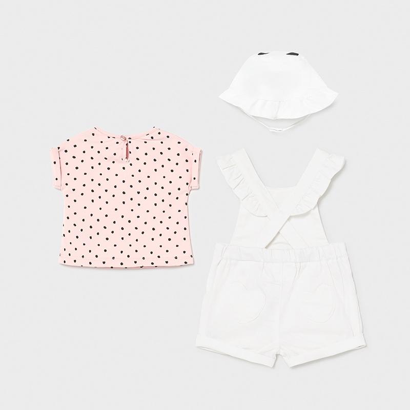 Комплект за бебе момиче от три части Mayoral