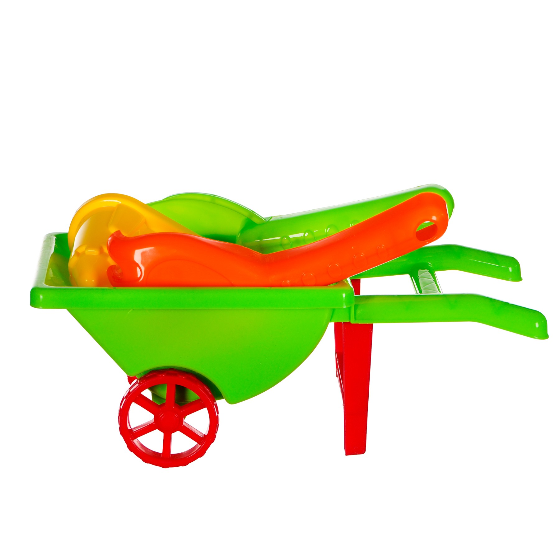 Комплект за пясък - количка, 4 части